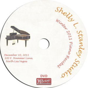 Stanley 2011 piano recital disk