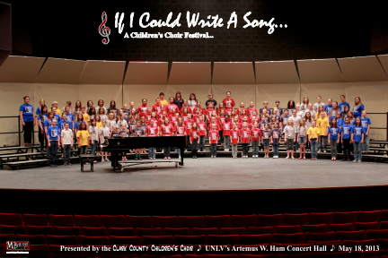 CCCC Choir Festival - If I Could Write A Song - Full Group