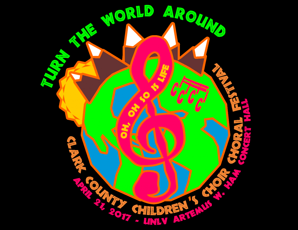 CCCC 2017 Festival T-Shirt Turn The World Around