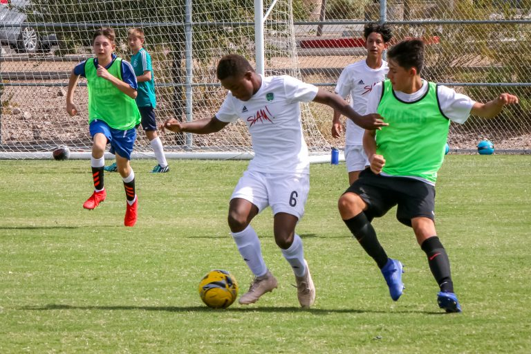 SLAM! JV Soccer vs Coral Acadmey 09-05-2019